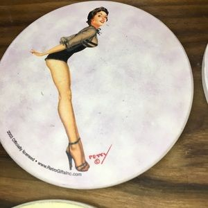 Retro Gifts Inc. Dining - Collectable Pin Up Girl Coasters